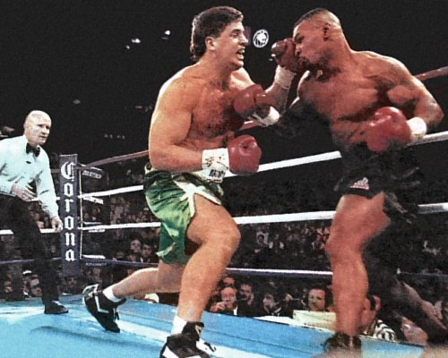 PETER McNEELEY vs MIKE TYSON
