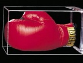 LAND OF LEGENDS - AUTOGRAPHED BOXING GLOVE
