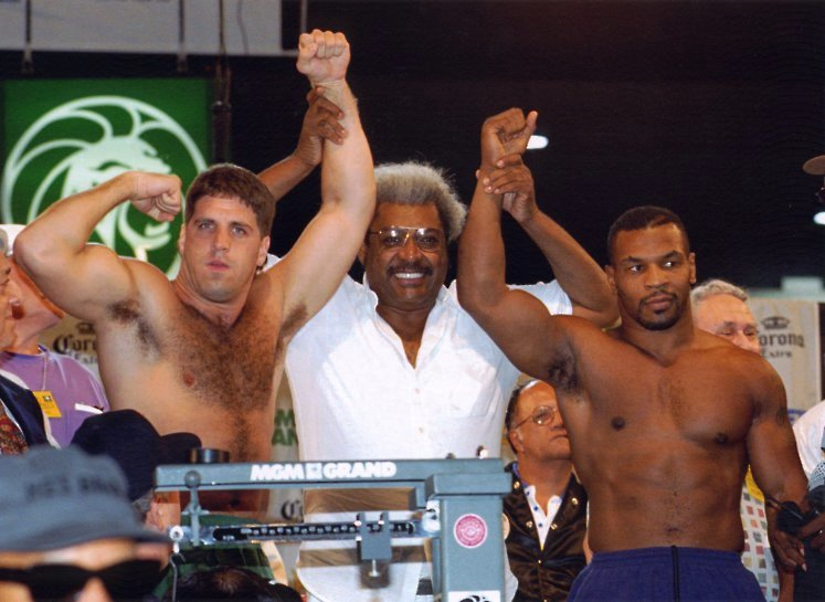 PETER McNEELEY, DON KING, AND MIKE TYSON WEIGH IN