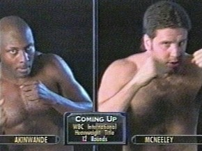 Peter McNeeley vs Henry Akinwande - Image #1