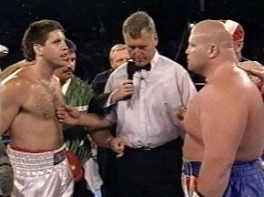 McNEELEY VS BUTTERBEAN - CLICK HERE FOR MORE PHOTOS FROM THE STAREDOWN!